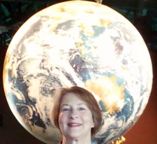 I call myself Earth girl.