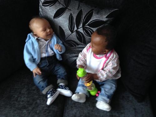 Reuben and cousin Abigail.
