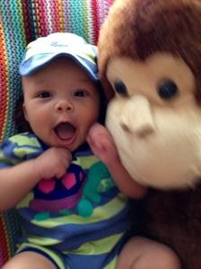 Monkey 5 happy