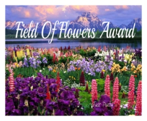 Field of Flowers Award.