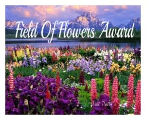 Field of Flowers Award.