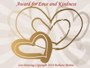 The Award for Love and Kindness.