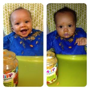 Messy eater !