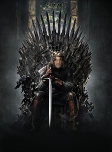 Mike on the Throne