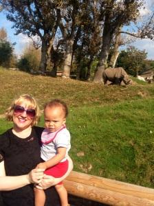 Mummy said it's a rhino sorea**e I think.