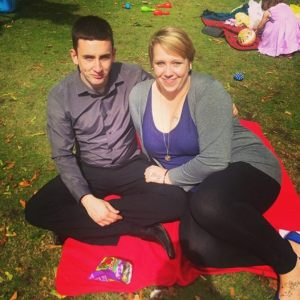 My eldest grandson Danny and his girlfriend Stacey.