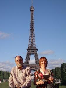 The trip to Paris Ju and I never got.
