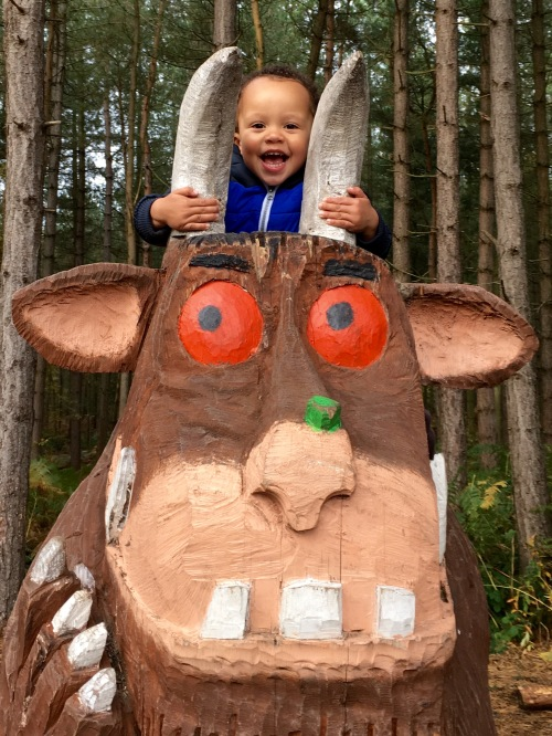 I am the voice of Gruffalo