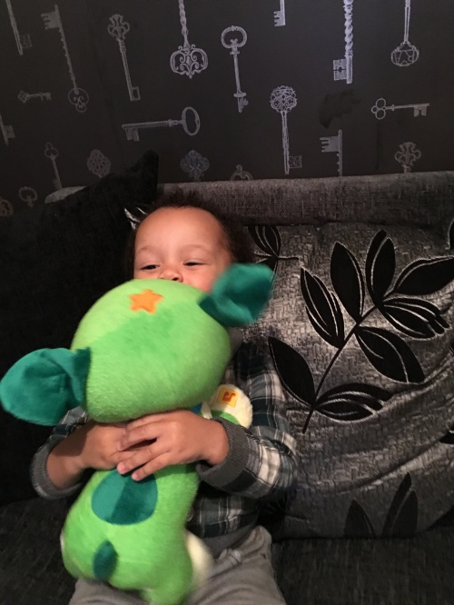 Reuben gets Monster Hugs