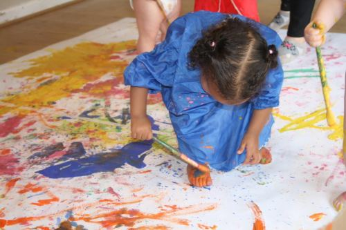 masterclass in upper foor painting
